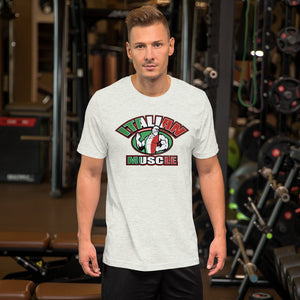 Italian Muscle Short-Sleeve Unisex T-Shirt - Guidogear
