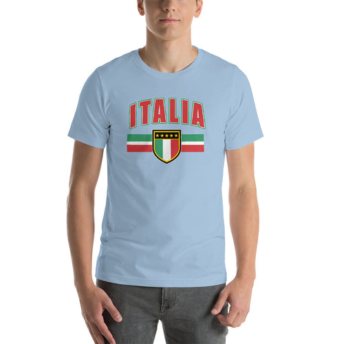 Italia Shield Short-Sleeve Unisex T-Shirt - Guidogear