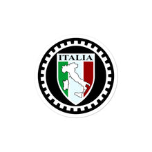 Load image into Gallery viewer, Italia Shield With Boot Circle stickers - Guidogear