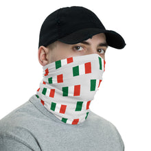 Load image into Gallery viewer, Italian Flag Neck Gaiter - Guidogear