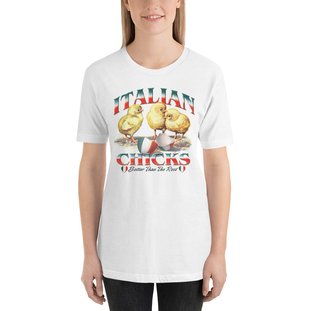 Italian Chicks Short-Sleeve Unisex T-Shirt - Guidogear