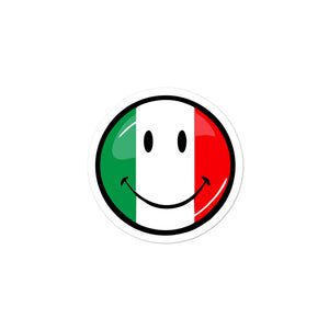 Italian Smiley Face Sticker - Guidogear