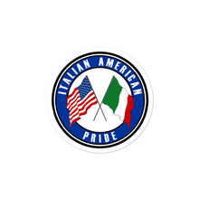 Load image into Gallery viewer, Italian American Pride Decal Sticker - Guidogear