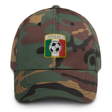 Load image into Gallery viewer, Italia Soccer Baseball Hat - Guidogear