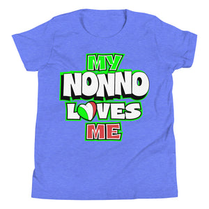 My Nonno Loves Me Youth Short Sleeve T-Shirt - Guidogear