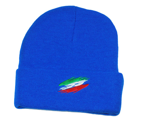 Royal Italian Flag Ski Cap - Guidogear