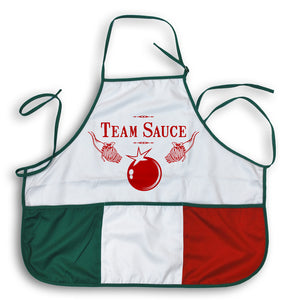 Team Sauce Italian Apron - Guidogear
