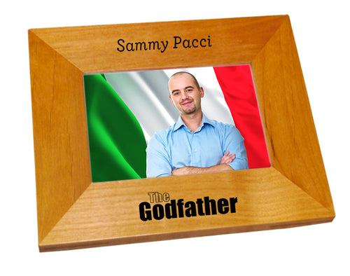 The Godfather Wood Picture Frame - Guidogear