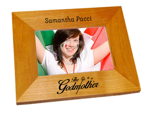 The Godmother Wood Picture Frame - Guidogear