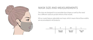 Pink Marble Curve Mask