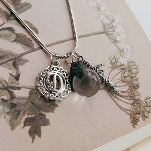 Identity Initial Boho Pendant *Colour Select