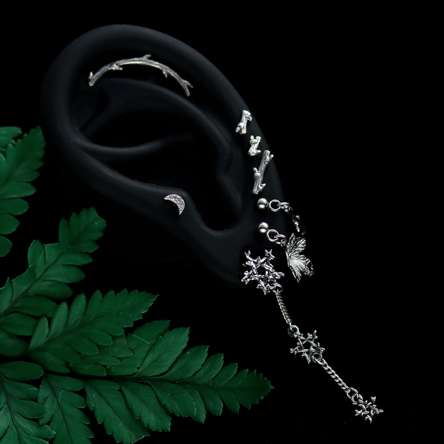 Hysminai Helix Embrace Gothic Branch Individual Earring