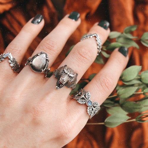 Wolf Pack Protector Ring