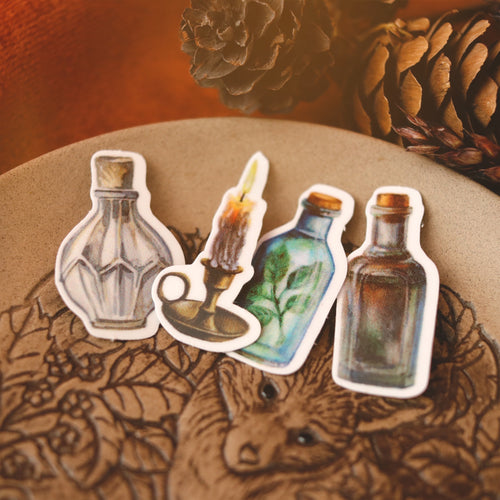 Nature Witch Apothecary Sticker Set
