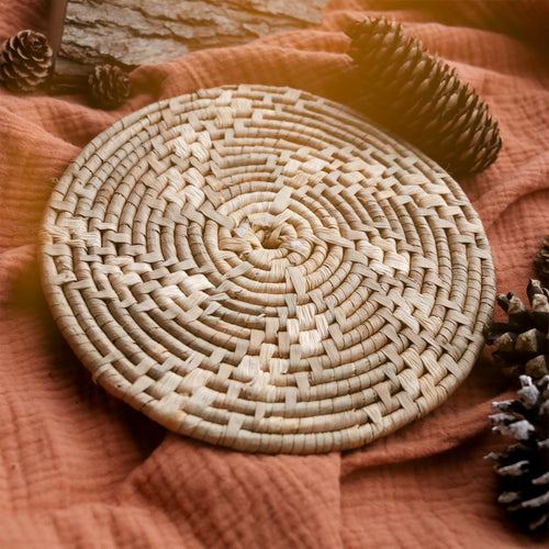 Wicker Candle Mat | UK ONLY