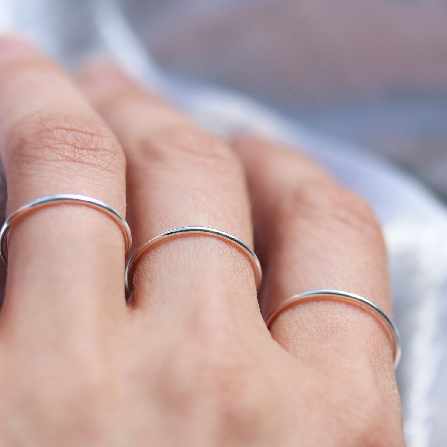 Shop Dixi Boho Chic Ring | Delicate Sterling Silver Ring