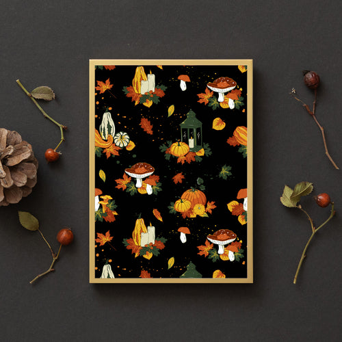 Cosy Autumn Nights Print