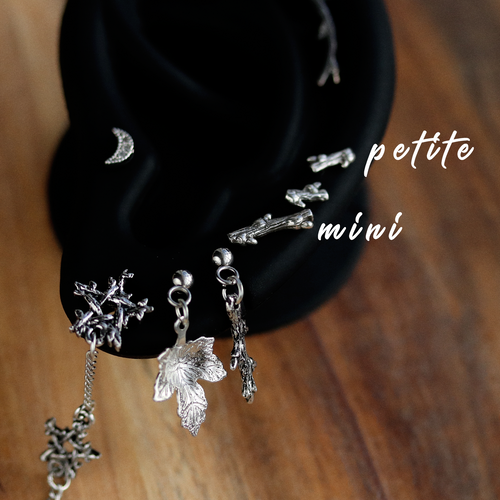 Hysminai Petite Gothic Branch Stud Earring *Size Select
