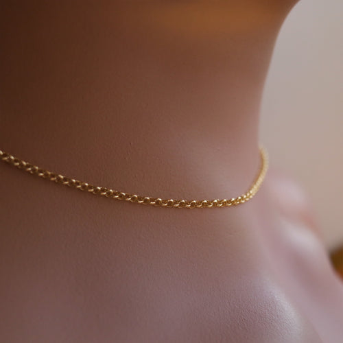 Rolo Necklace Chain *Colour Select