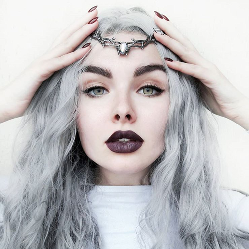 Skadi Goddess Of Winter Thorn Head Crown Mystic
