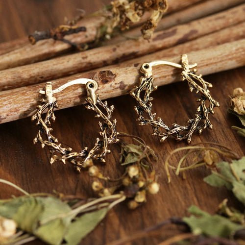 Silvestre Mini Thorn Hoop Earrings *Colour Select