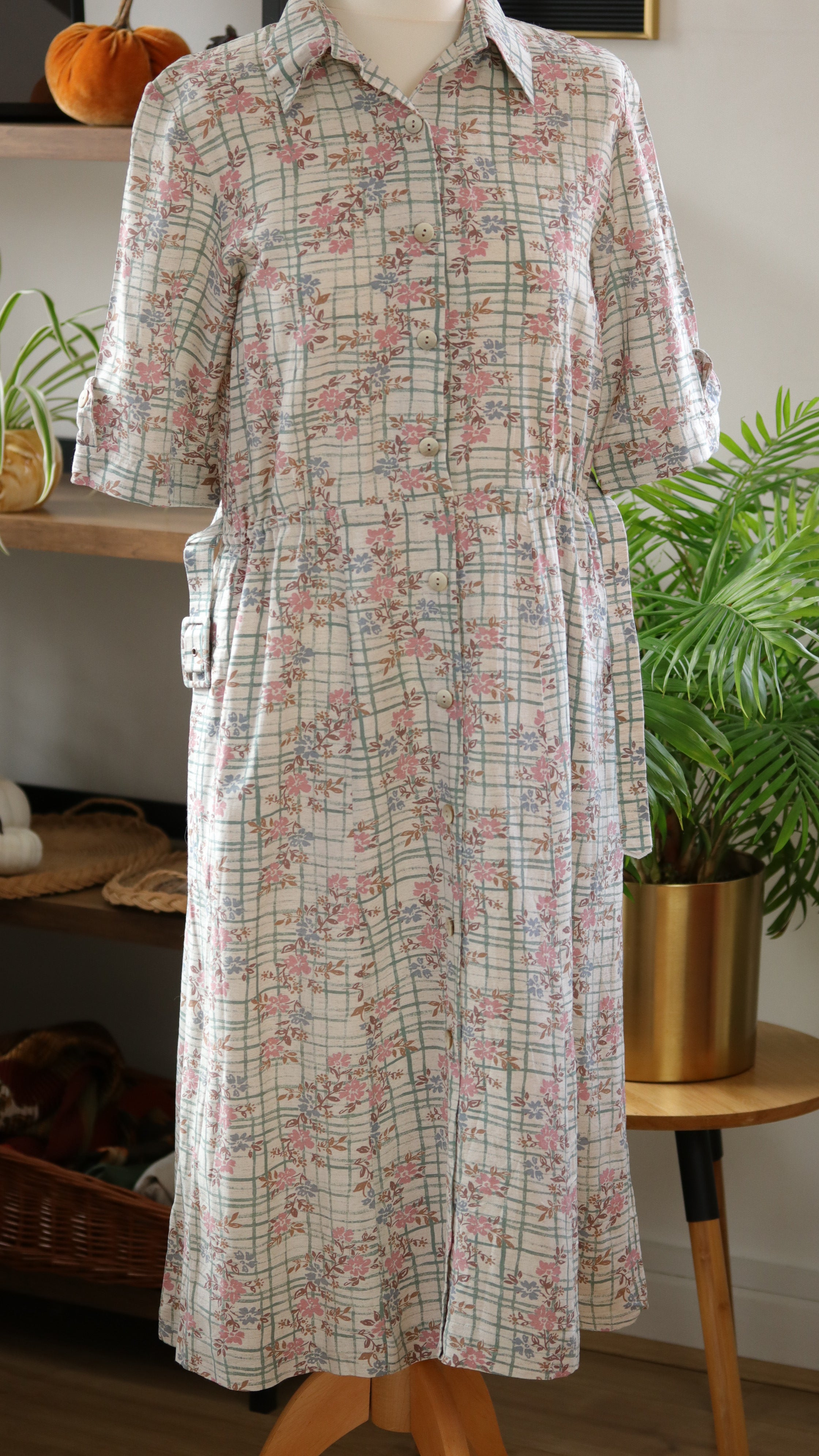 Cottagecore Queen Vintage Dress With Pockets | Size S/M | UK Only
