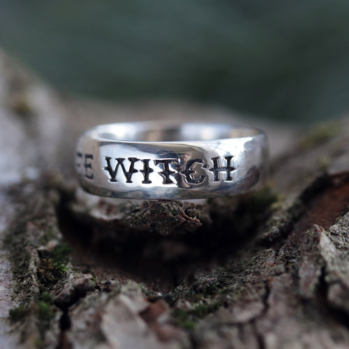 White Witch Gothic Ring | Kimi Peri  x Dixi