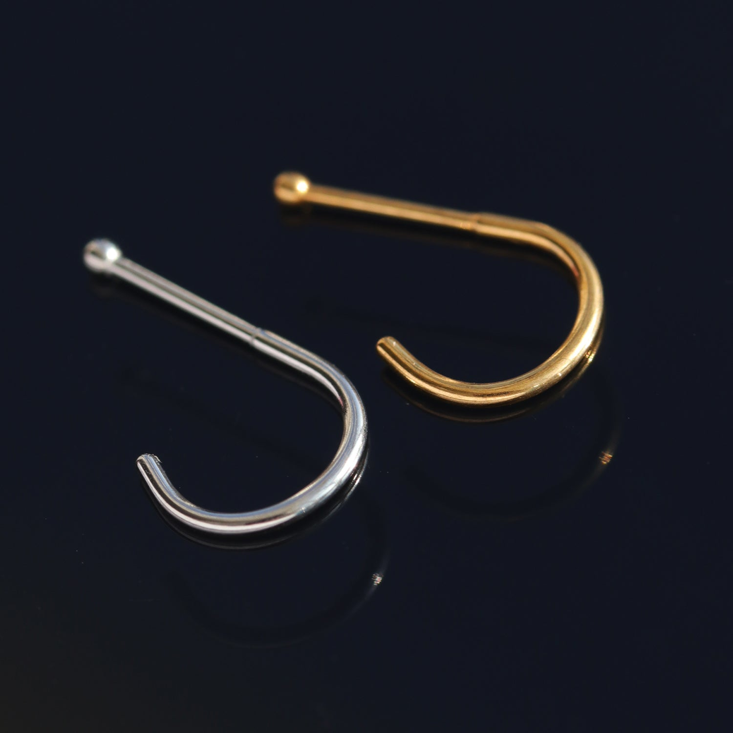 Delicate Surgical Steel Nose Ring