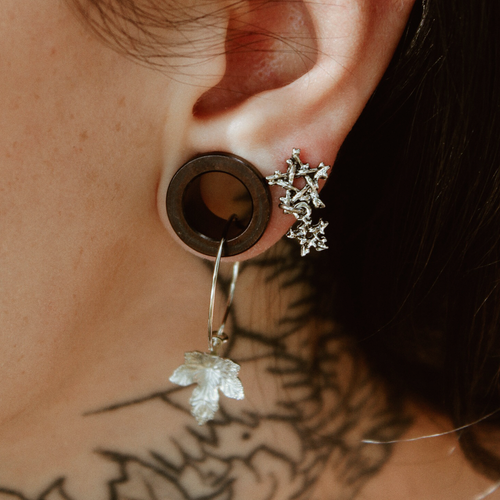 Willow Magick Double Pentagram Drop Earrings | Harmony Nice X Dixi
