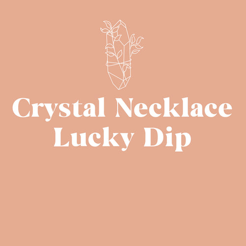 Crystal Necklace Lucky Dip