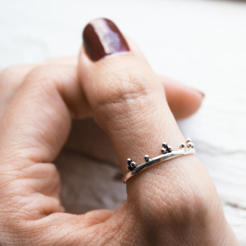 Monarch Sterling Silver Boho Chic Thumb Ring