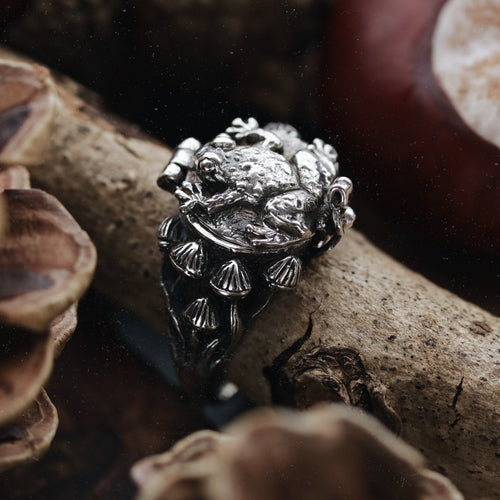 Poisonous Toadstool Hidden Treasure Ring | Talent Scout Winner