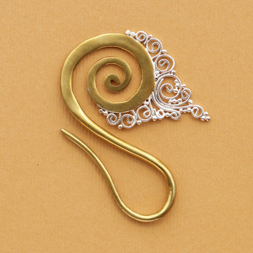 Cersei Statement Boho Hoop Earring