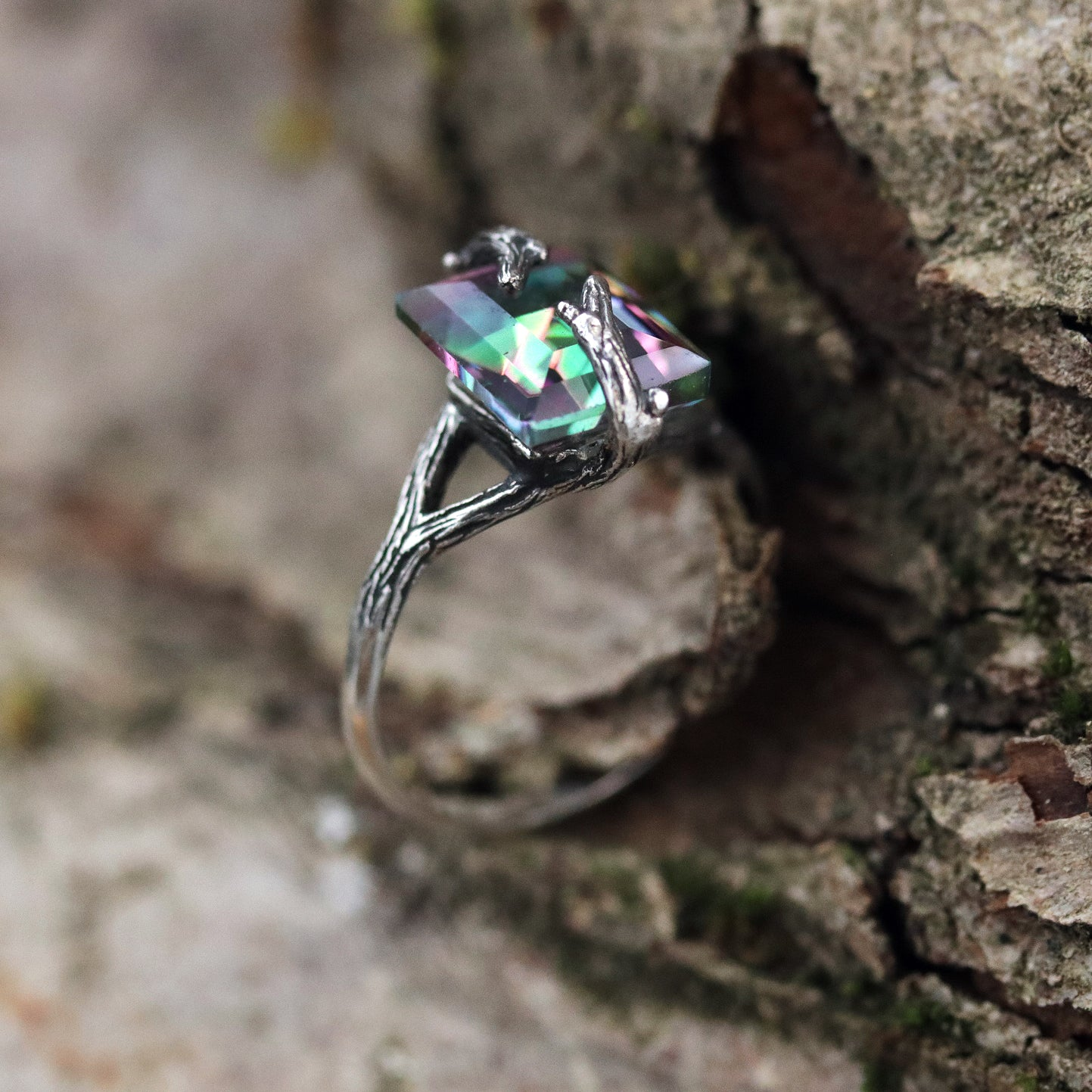 LAST CHANCE | Forest Embrace Mystic Branch Ring