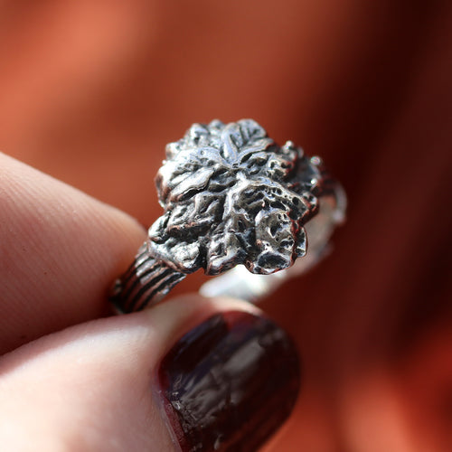 LAST CHANCE Green Man Boho Ring | Harmony Nice X Dixi
