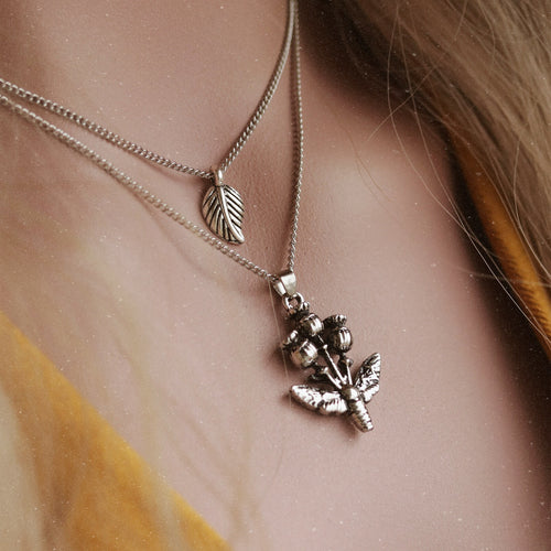 Drowsy Twilight Poppy Necklace | Talent Scout Winner