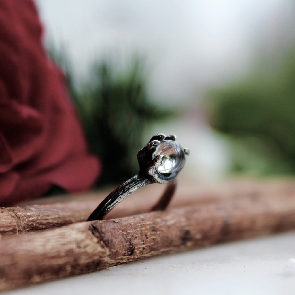Ebonisa Moonstone Boho Chic Ring