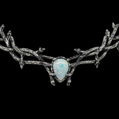 VOTE TO RESTOCK | Skadi Goddess Of Winter Thorn Choker Ice
