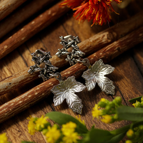 Willow Magick Maple Drop Studs *Colour Select