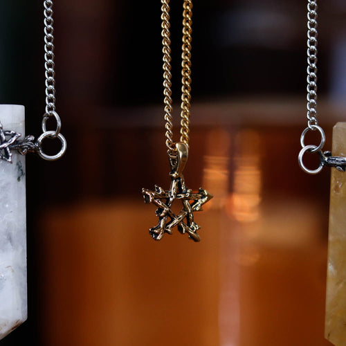 BACK SOON Willow Magick Pentagram Thorn Necklace | Harmony Nice X Dixi