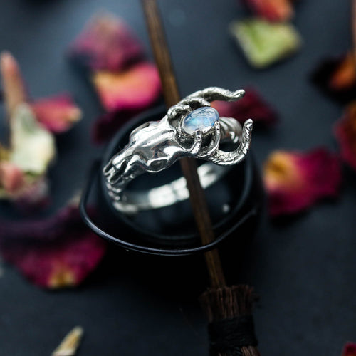 Enchanted Deer Skull Ring | Harmony Nice X Dixi
