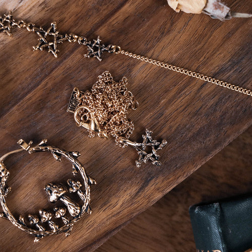 Willow Magick Pentagram Thorn Necklace | Harmony Nice X Dixi