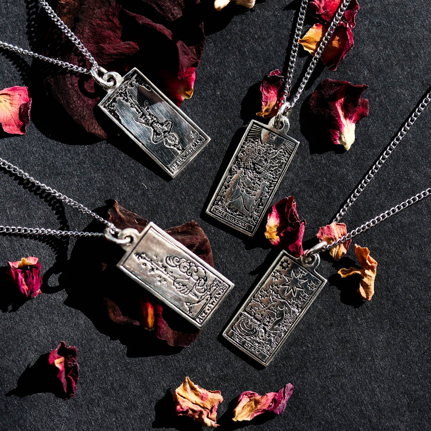 Tarots Tale 'Ace of Wands' Necklace | Harmony Nice X Dixi