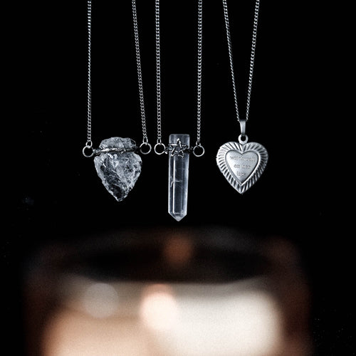 LAST CHANCE | Witchcraft On Her Lips Locket Necklace | Harmony Nice X Dixi