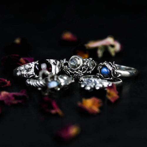 Evenstar Moonstone Ring | Harmony Nice X Dixi
