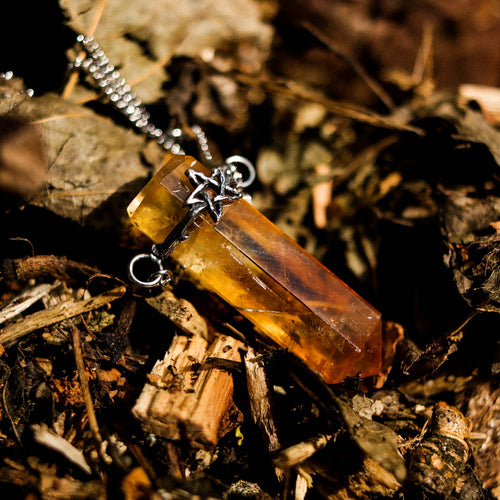 Willow Harvest Crystal Point Necklace *Stone Select | Harmony Nice X Dixi
