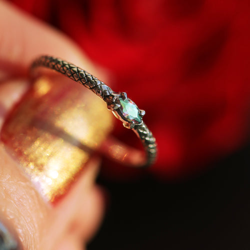 Serpent Skin Mystic Ring