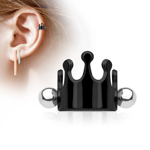 Zenith Crown Cartilage Ear Cuff