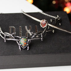 VOTE TO RESTOCK | Skadi Goddess Of Winter Thorn Choker Black