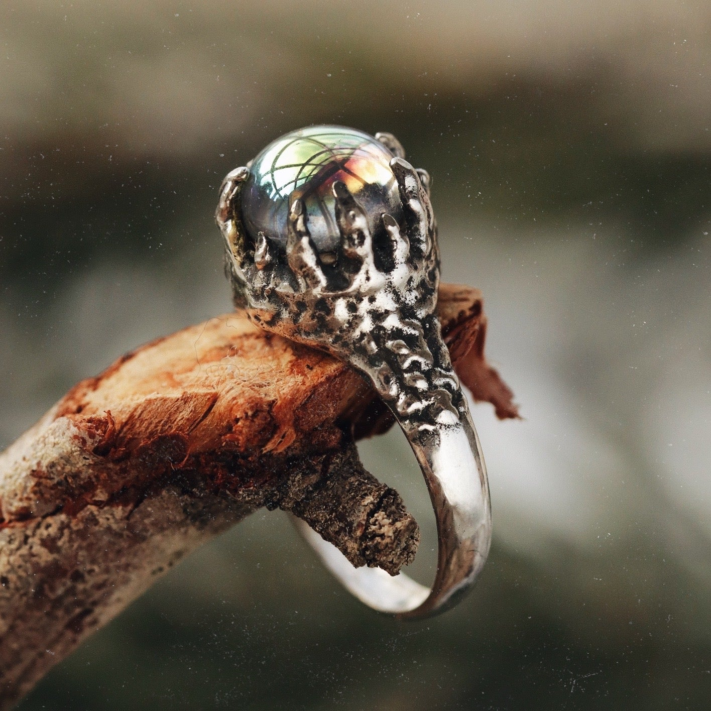 Glaciem Regina Mystic Icicle Sterling Silver Ring
